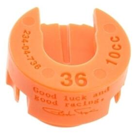 Fox Racing Shox Float NA 2 Volumendistanzstück für 36 Float Federgabel orange